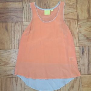 Maeve Silk Tank Top